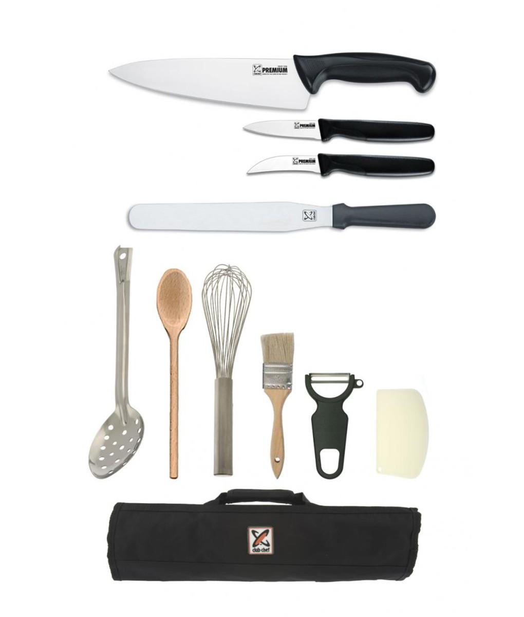 11 Piece Chef Starter Kit - Premium by Club Chef