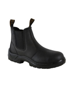Cougar 'Black Rambler' Safety Boot with Safety Toe Cap.