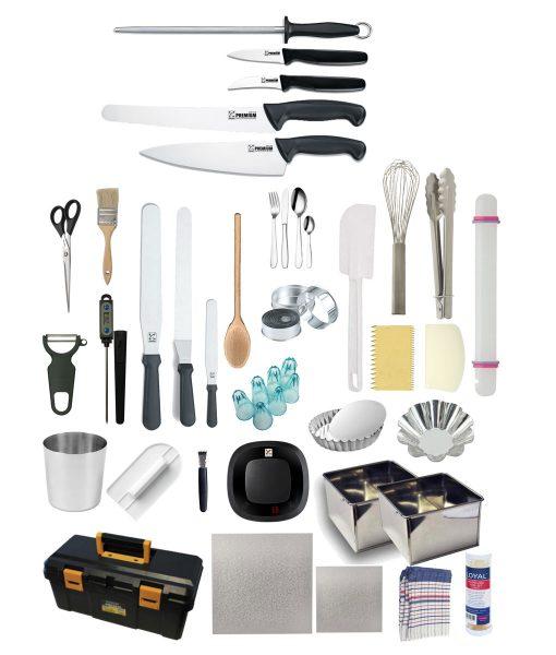 Carrick Institute -Patisserie Kit – Premium Club Chef Blocks and Knife Sets