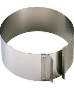 Adjustable Cake Ring - Stainless Steel