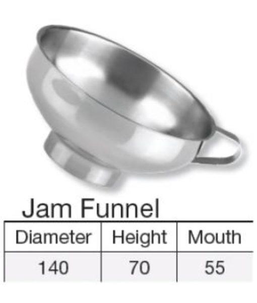 Jam Funnel - Stainless Steel