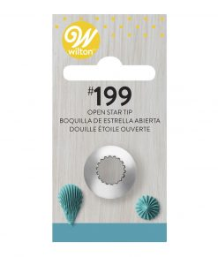 Piping nozzle  Star Tip #199 Cookie & Cake Decorating