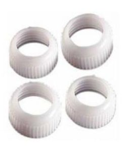 Coupler 4xRing Set (for use with Wilton tube icings)