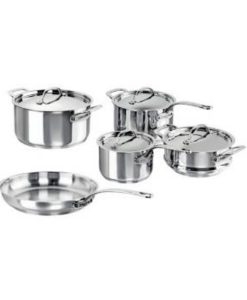 Le Chasseur Maison Stainless Steel 5pc Cookware Set