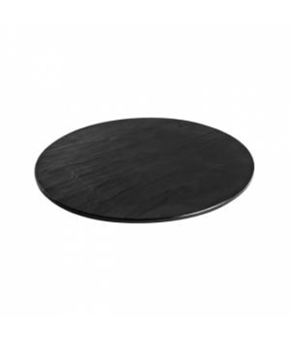 Platter (slate Look) Round 330mm Melamine by Ryner