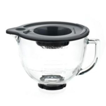 KitchenAid 4.7L Designer Glass Mixing Bowl