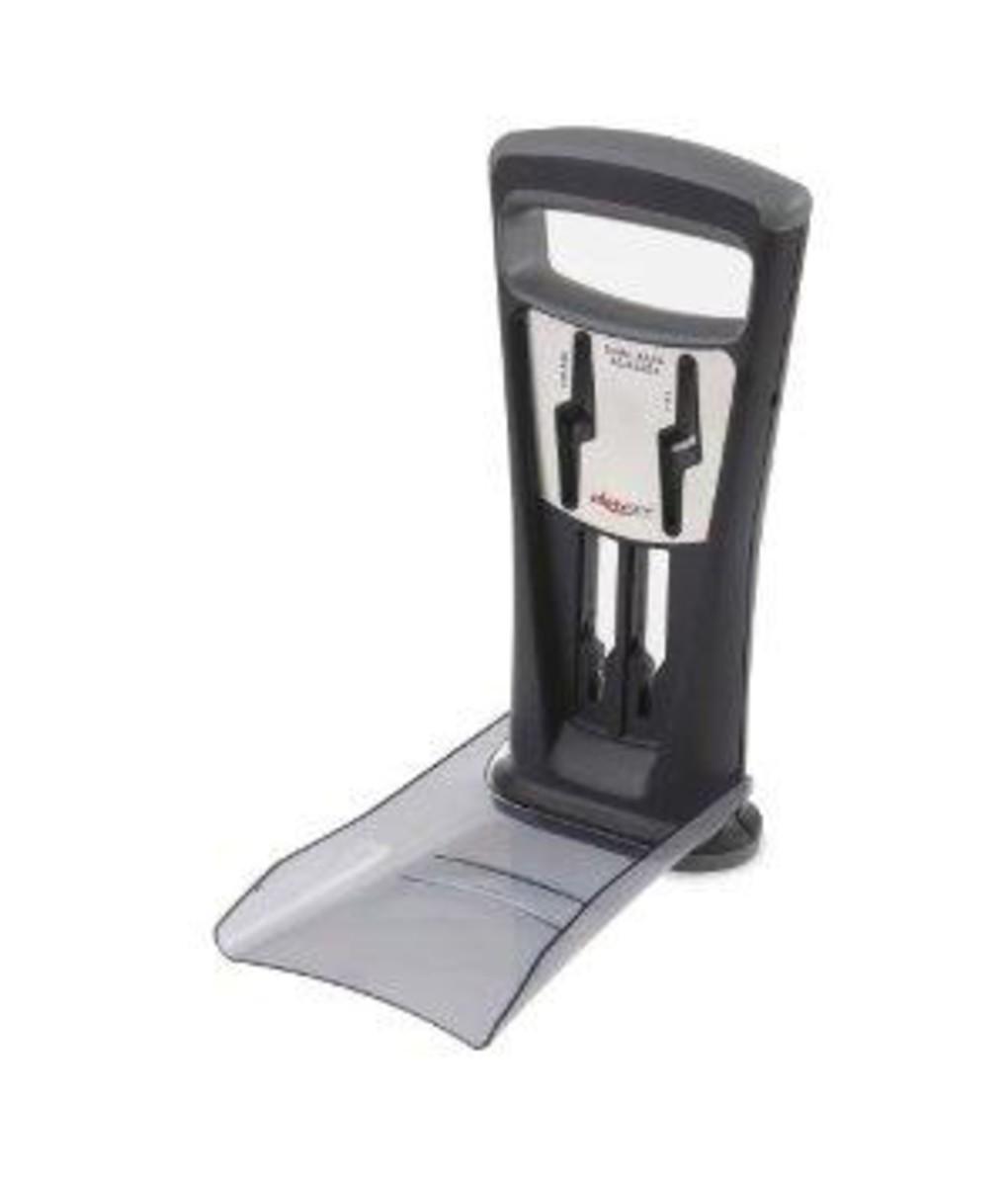 counter safe deluxe knife and scissors sharpener by kitcheniq. Black Bedroom Furniture Sets. Home Design Ideas