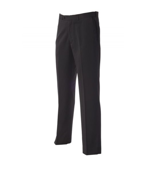 Mens Black Fitted Trouser by Paul Mason