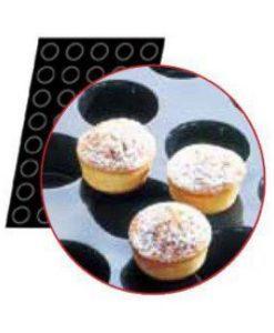 Flexipan Muffin Moulds  x 24 125ml - 73x40mm by Matfer Bourgeat