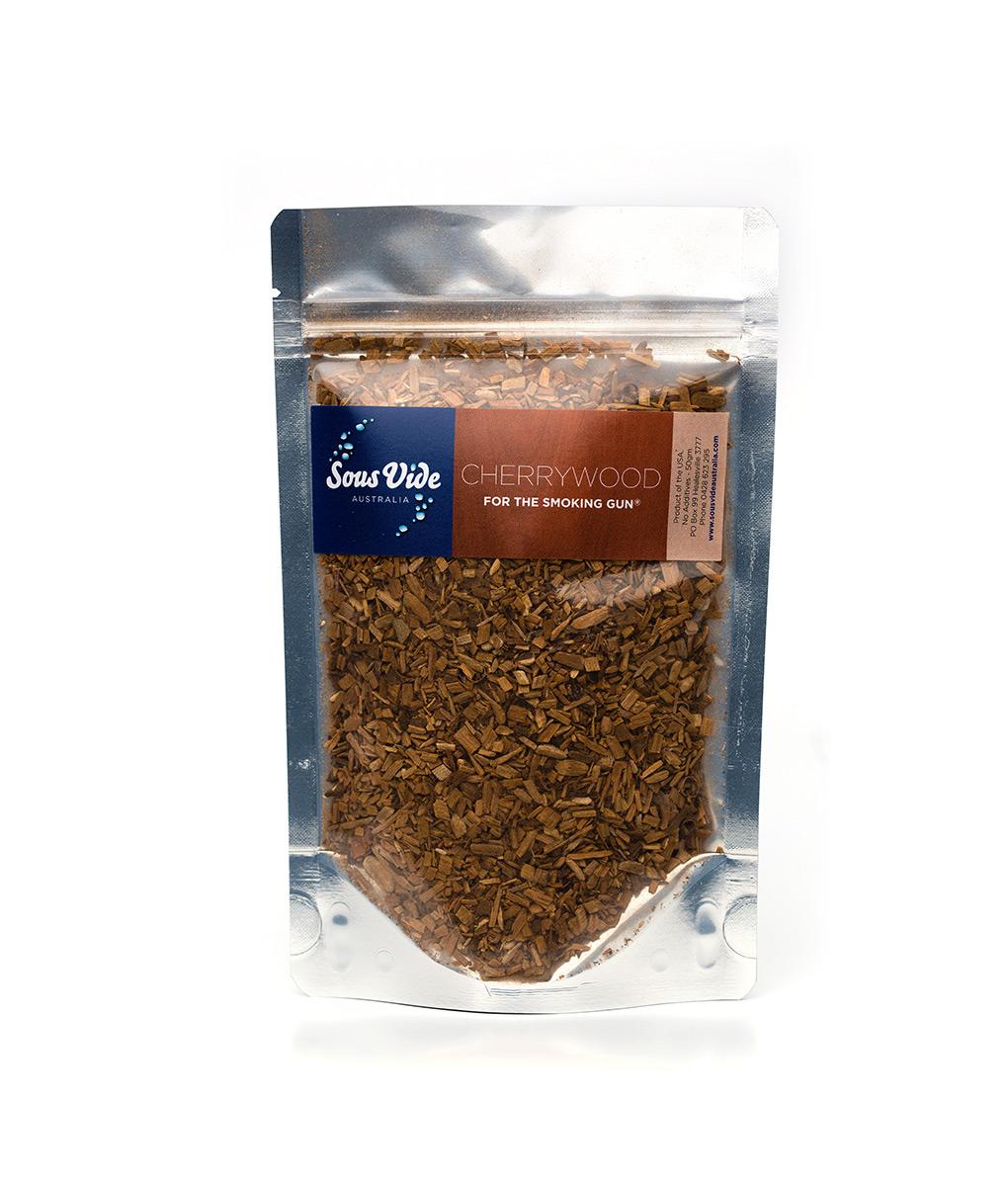 Wood chips – Cherrywood for The Smoking Gun wood smoker 50g Food Smoker