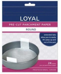 Parchment Paper - 30cm Pre-Cut Round with tabs by Loyal