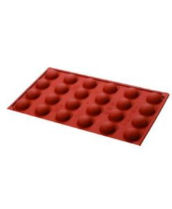 Semi Sphere Silicone Mould 30x15mm by Red Spoon Company