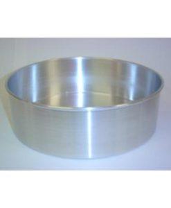 Cake Pan Aluminium 25cm