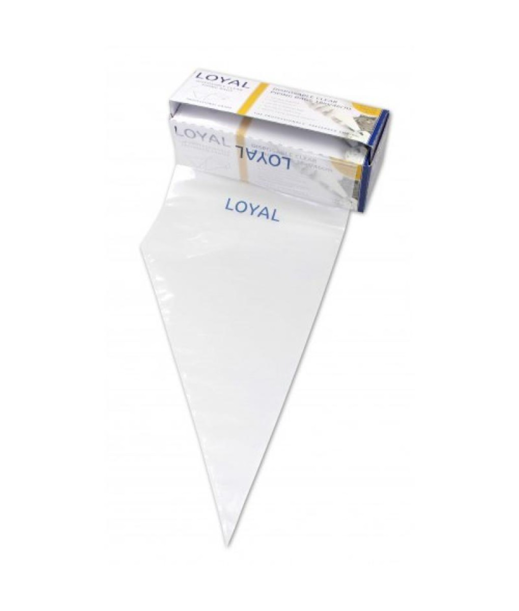 Boxed Disposable Piping Bags - Clear 46cm x 100