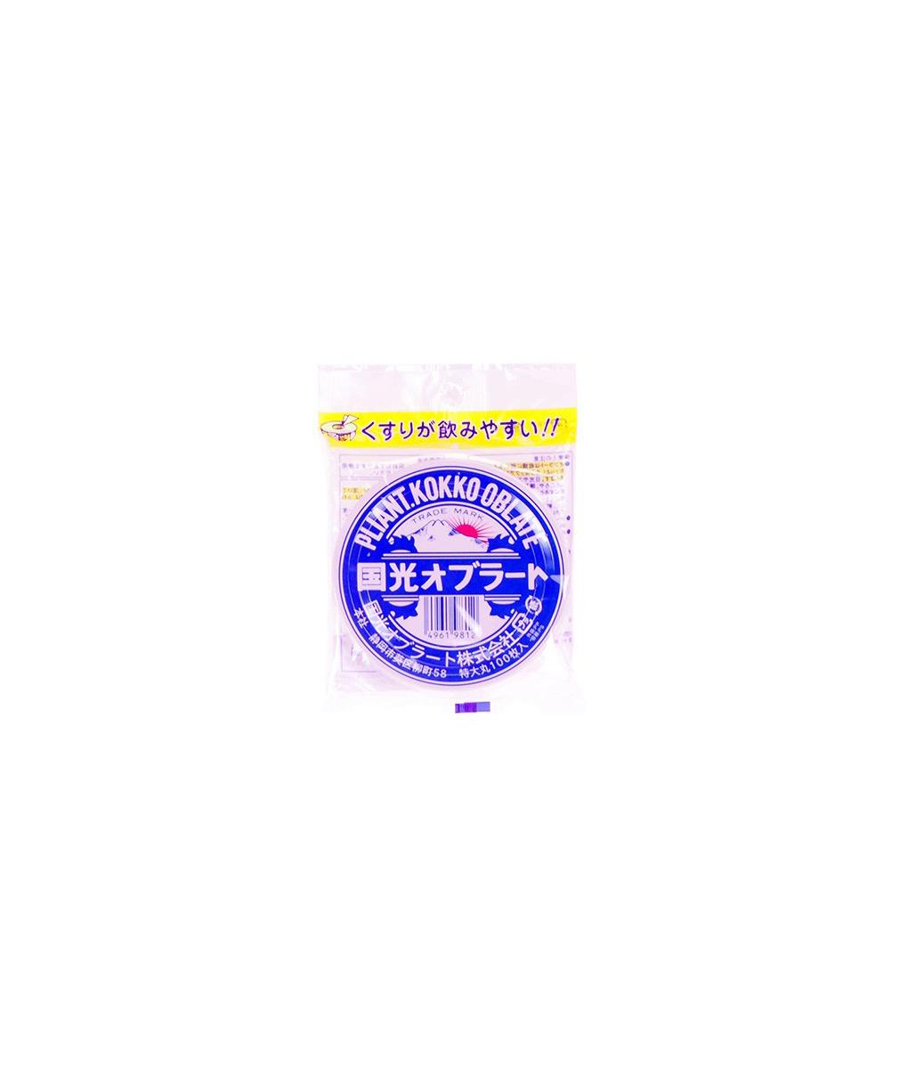 Edible Film – Circular 9.5cm – 100pc Ingredients