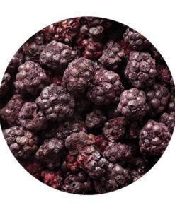 Freeze Dried Whole Blackberry - 125gm