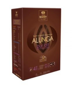 Alunga 41% Milk Chocolate Couverture 1kg by Cacao Barry
