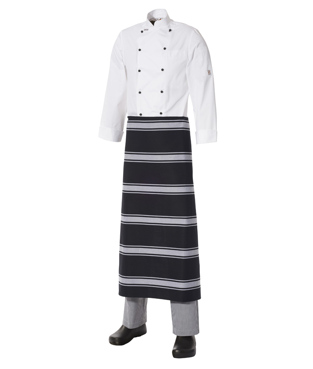 Long Apron Bratting Stripe
