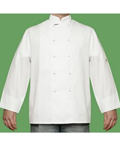 Straight Cuff Chef Jacket by Club Chef