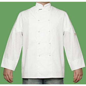 Straight Cuff Chef Jacket by Club Chef