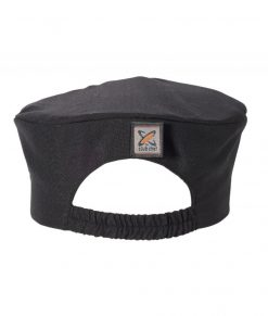 Traditional Flat Top Hat Black (Skull Cap / Pill Box) by Club Chef