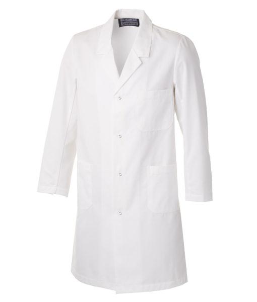 Laboratory Coat with Press Studs