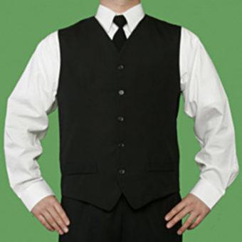 Men's Waitering Vest by Barbara Chalmers Designs