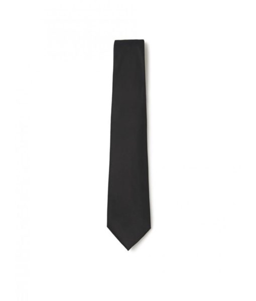 Neck Tie - Plain Black