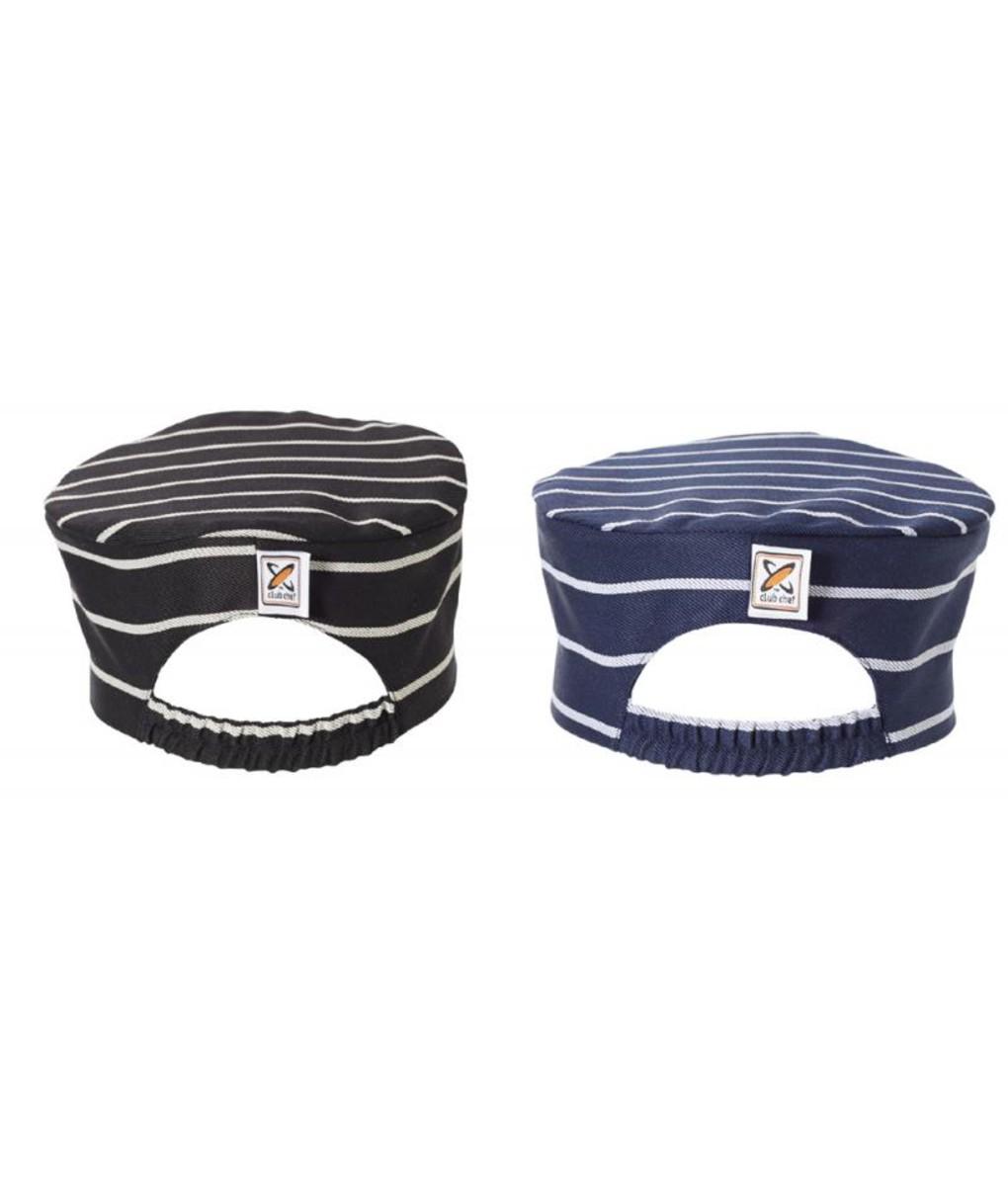 Flat Top Hat Pinstripe by Club Chef