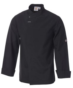 Food Preparation Chef Jacket Black by Club Chef