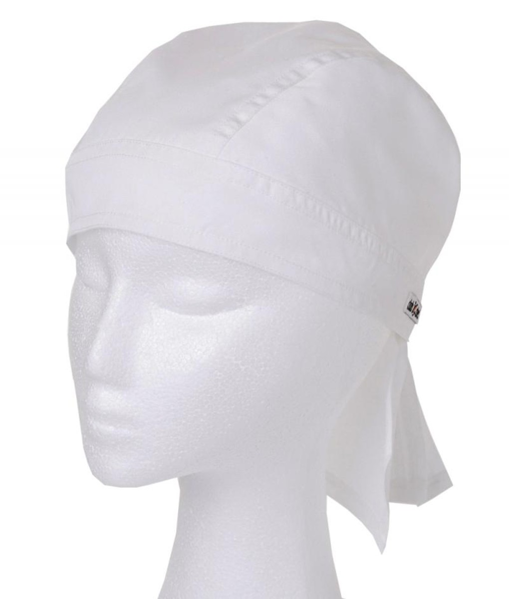 Bandana White by Club Chef