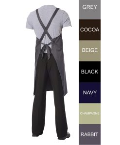 Crossback Apron by Club Chef