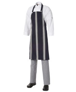 Bib Apron Bratting Stripe