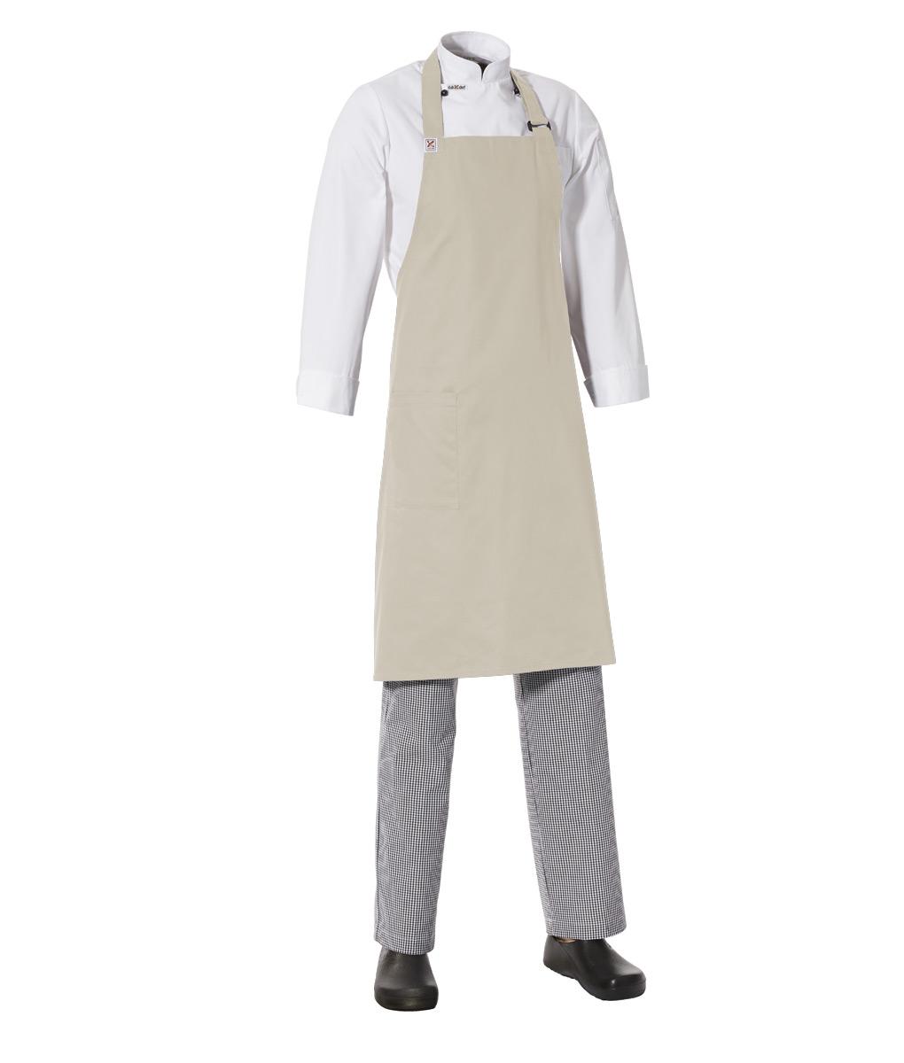 Bib Apron with Side Pocket by Club Chef Aprons 3