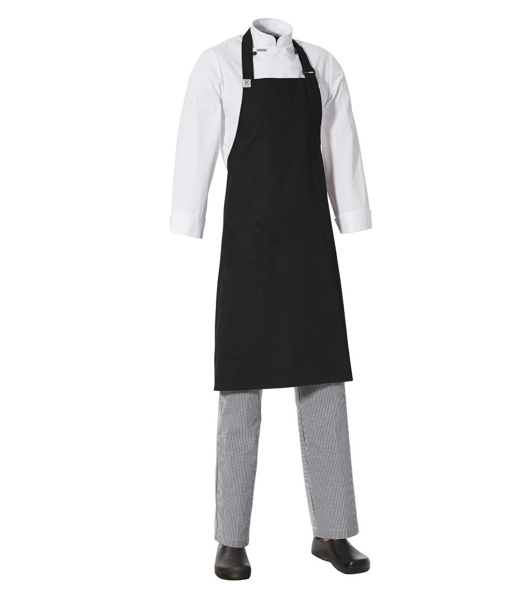 Bib Apron with Side Pocket by Club Chef Aprons 6