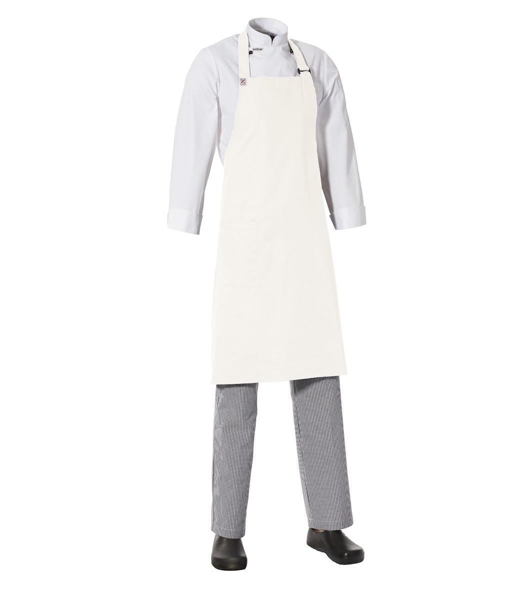 Bib Apron with Side Pocket by Club Chef Aprons 7