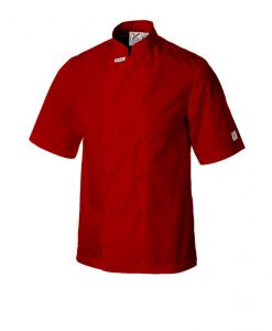 Traditional Chef Jacket - Short Sleeves in Various Colours - 100 units by Club Chef