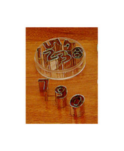 Cutter Set Numbers 40mm 10piece