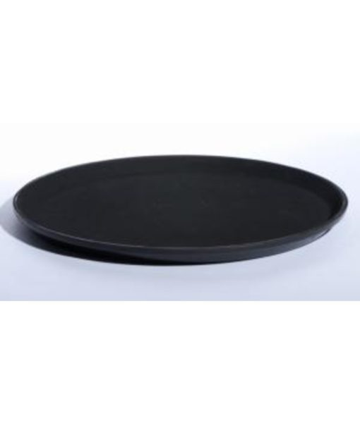 Waiters Tray - Black Non Slip 35cm