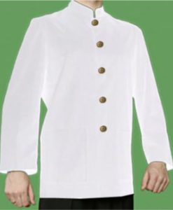 Restaurant Jacket - White by Club Chef