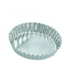 Fluted Tart Mould Fixed Base 85x16mm