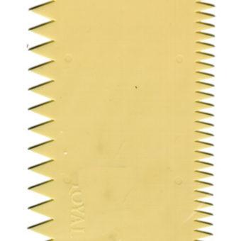 Plastic Comb Scraper 138x98mm Two Sided