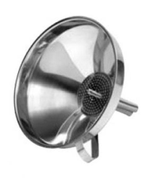Funnel & Strainer 14.5cm Stainless Steel