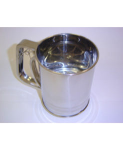 Sifter Flour 3 Cup Stainless Steel