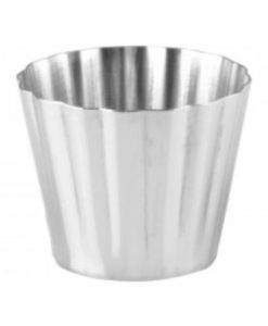 Fluted Dariole Mould - Aluminium- 67x56mm