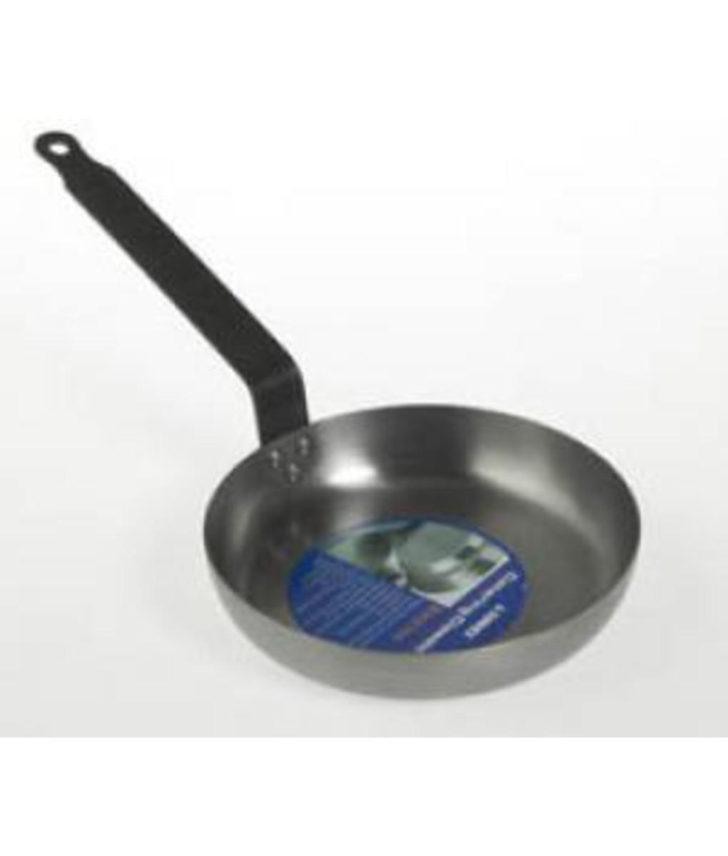 Black Iron Omelete Frypan 20cm
