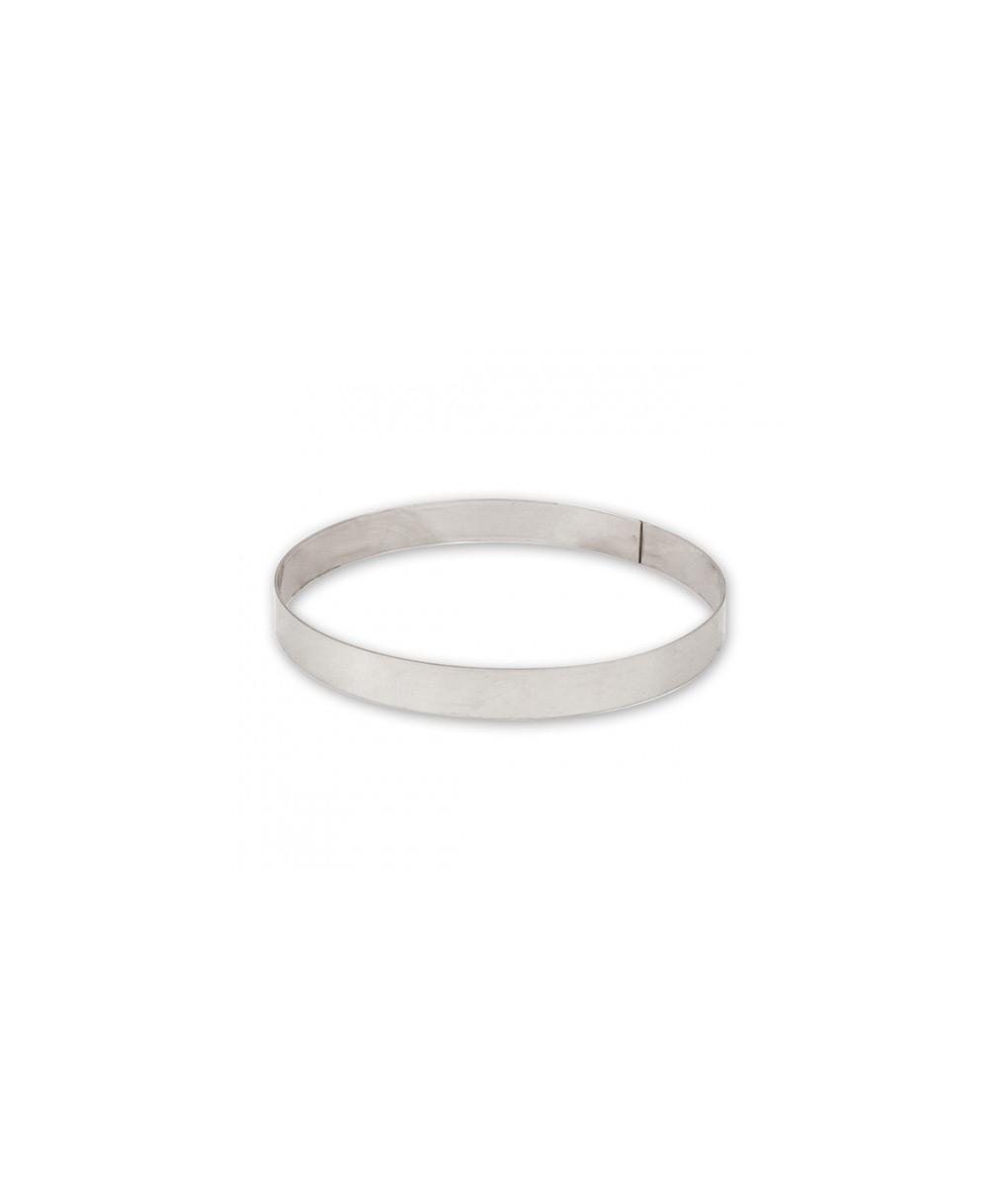 Tart Ring 10x2cm Food Stackers