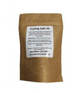 Curing Salt  #2 - Long Curing - 100gms