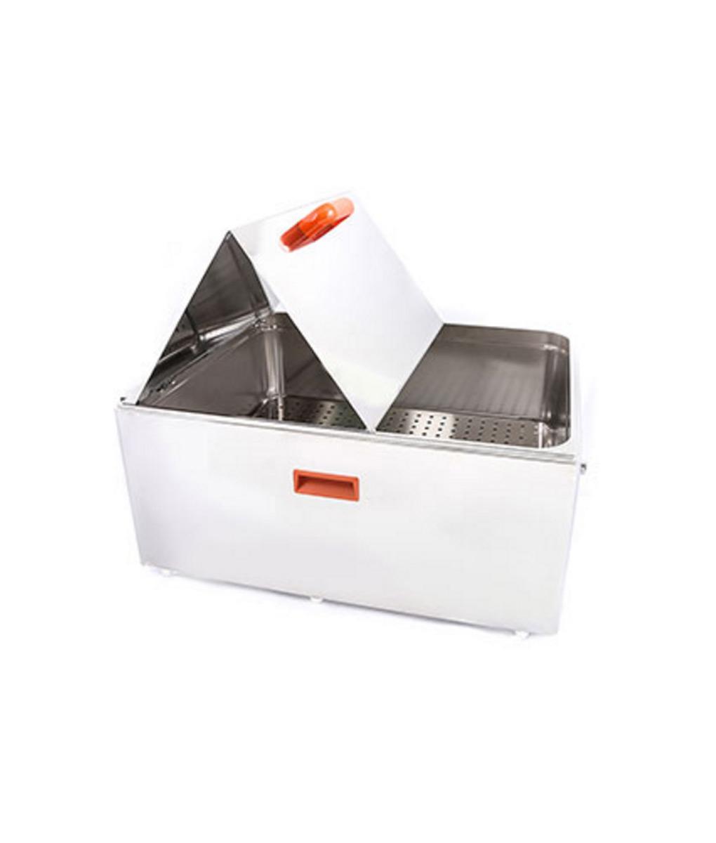 Unstirred Digital Bath 56 Litre by Clifton – end control bi-fold lid version Electrical