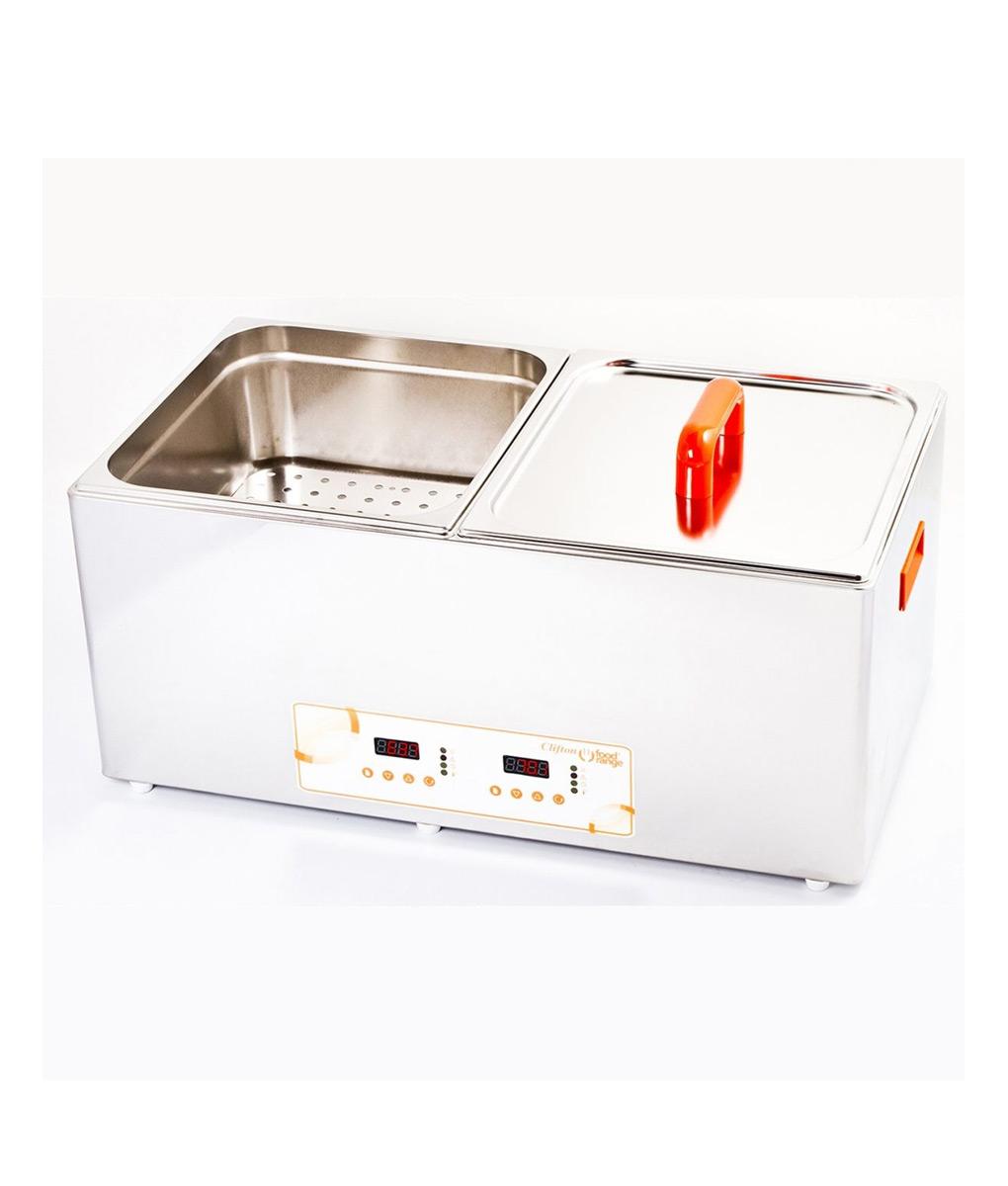 Unstirred Digital Bath 56 Litre by Clifton – end control bi-fold lid version Electrical 2